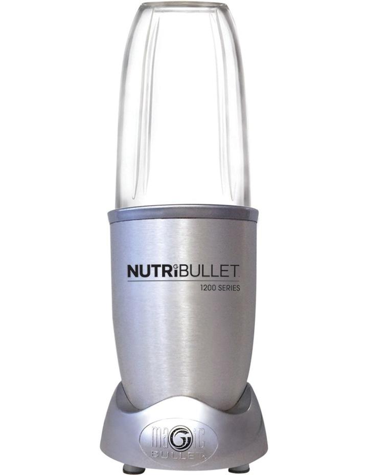 1200 Watt Series 12 Piece Nutrient Exractor Blender: Silver N12-1207 image 2