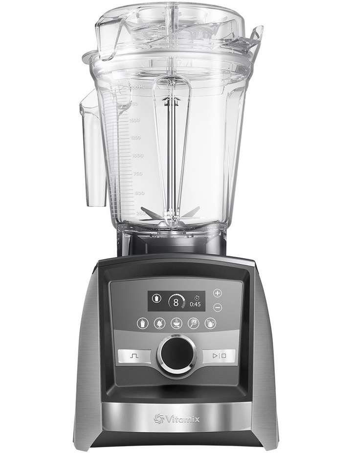 Ascent Series High Performance Blender - Brushed Stainless Finish A3500i image 1