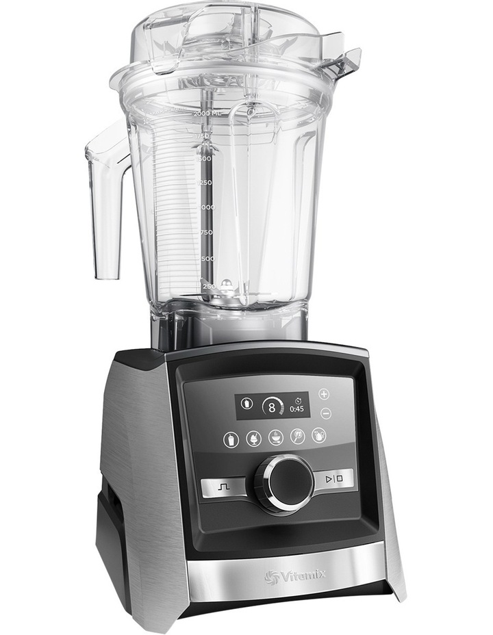 Ascent Blender A3500i - Brushed Stainless Finish image 2