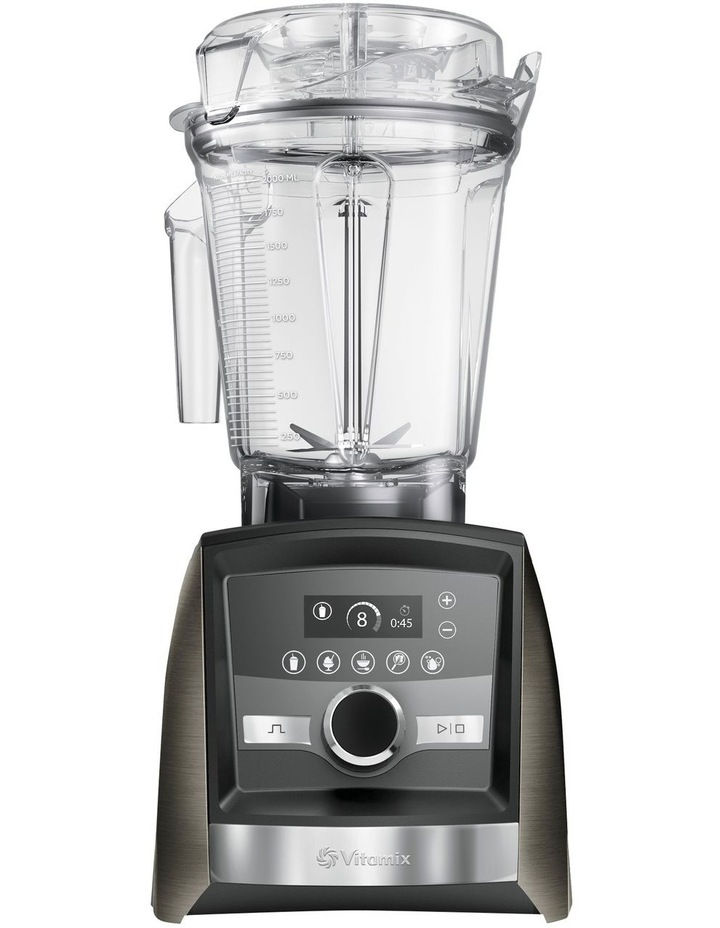 Ascent Series A3500i High Performance Blender Limited Edition in Black Stainless Metal image 1