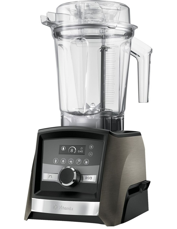 Ascent Series A3500i High Performance Blender Limited Edition in Black Stainless Metal image 2