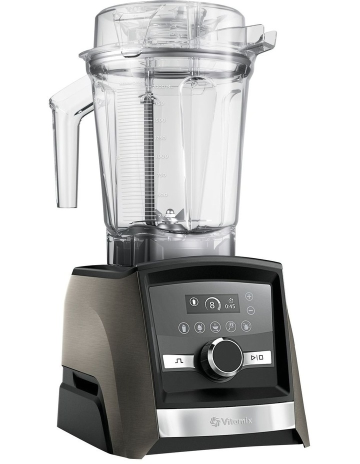 Ascent Series A3500i High Performance Blender Limited Edition in Black Stainless Metal image 3