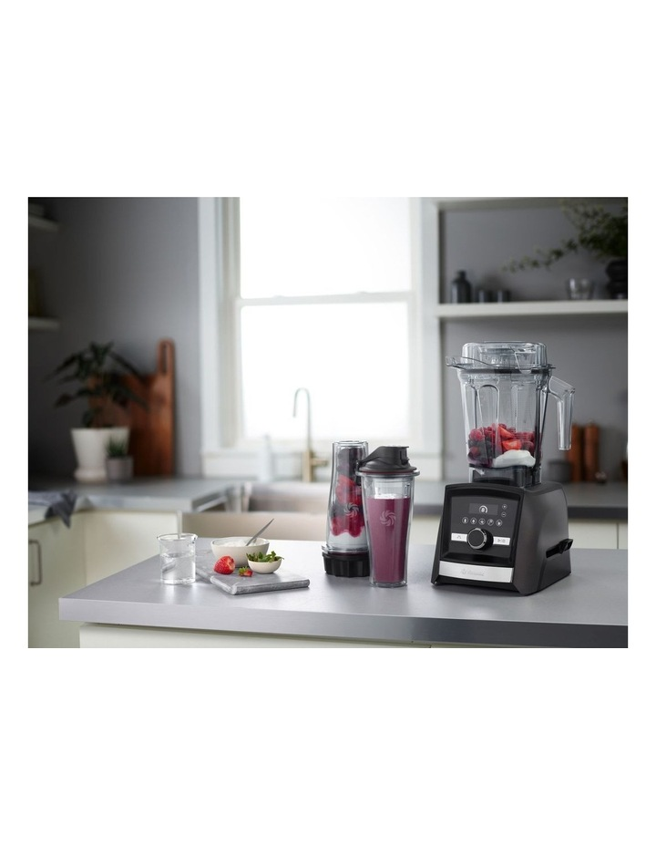 Ascent Series A3500i High Performance Blender Limited Edition in Black Stainless Metal image 6