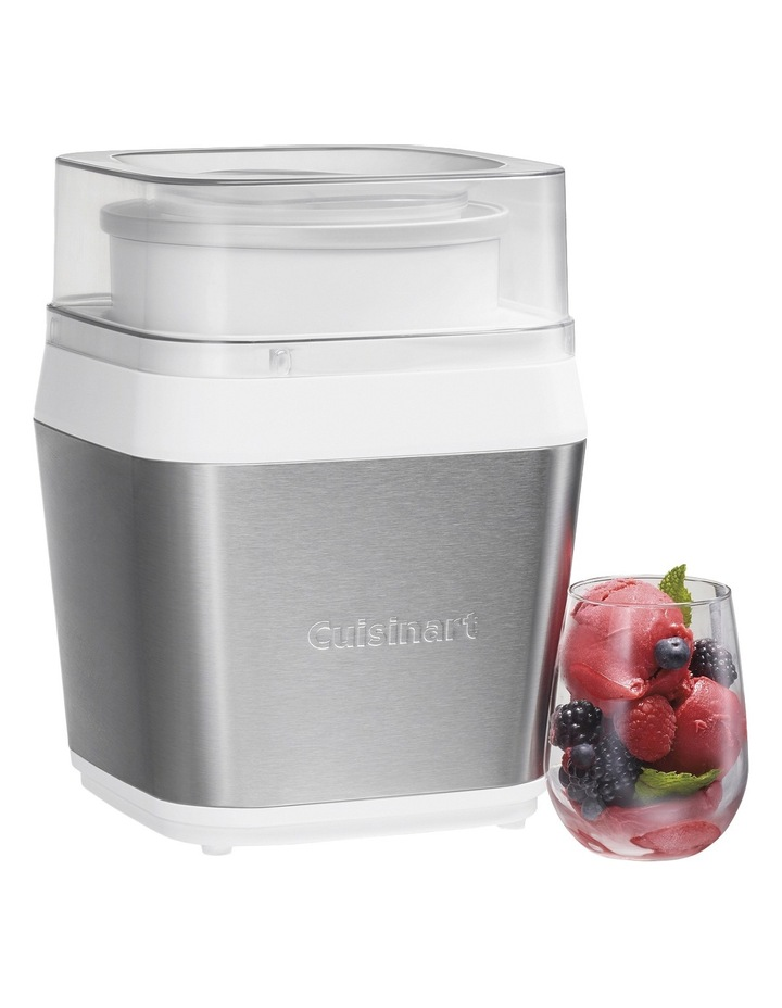 Fruit Scoop Frozen Dessert Maker: Silver: ICE-31XA image 2
