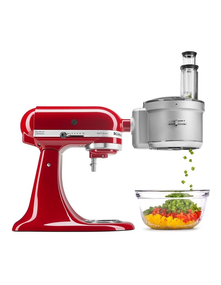 Food Processor Attachment for Bench Mixer White KSM2FPA image 1