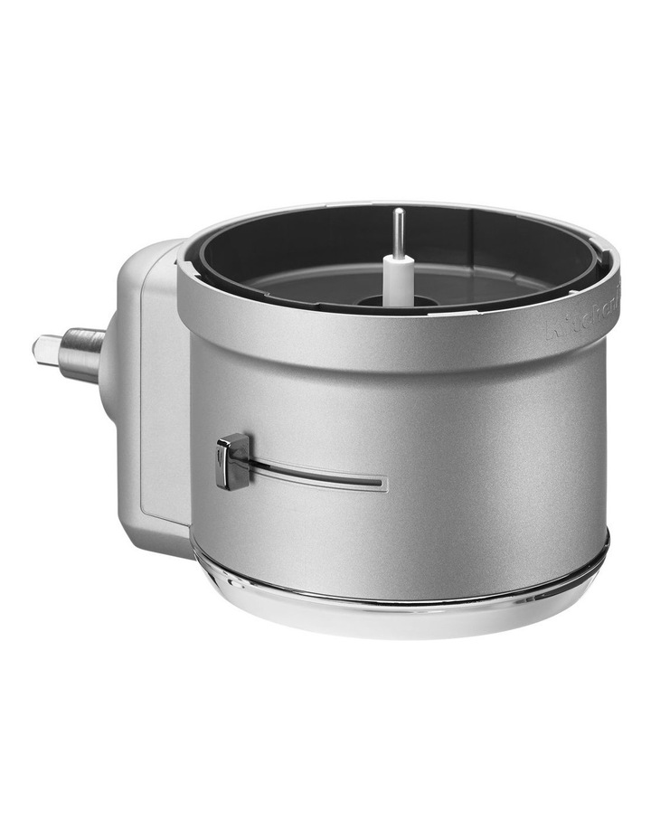 Food Processor Attachment for Bench Mixer White KSM2FPA image 2