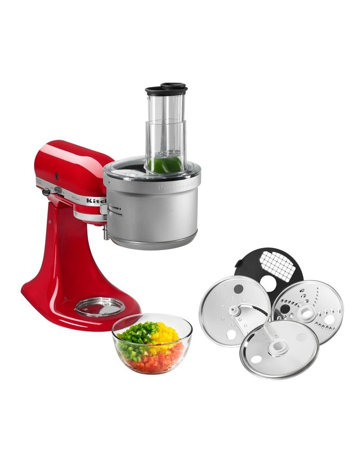 Food Processor Attachment for Bench Mixer White KSM2FPA image 3