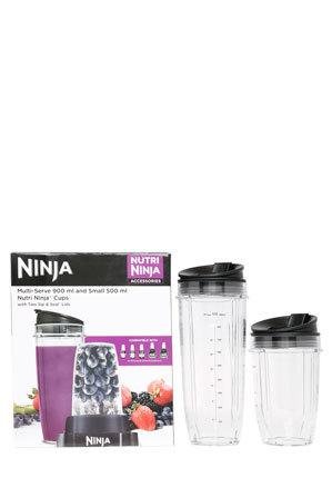 Ninja - NNA_DCC_90+500 Double Cup Attachment for Nutri Ninja