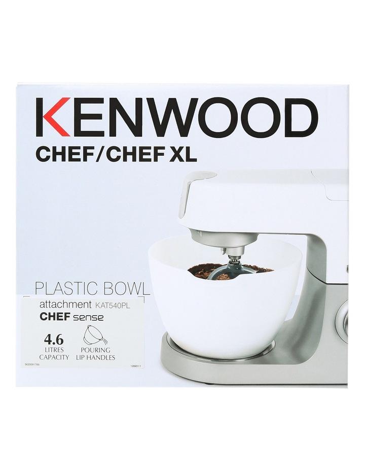 KAT540PL 4.6 litre White Poly Bowl Attachment for Chef Sense KVC5 Range image 1