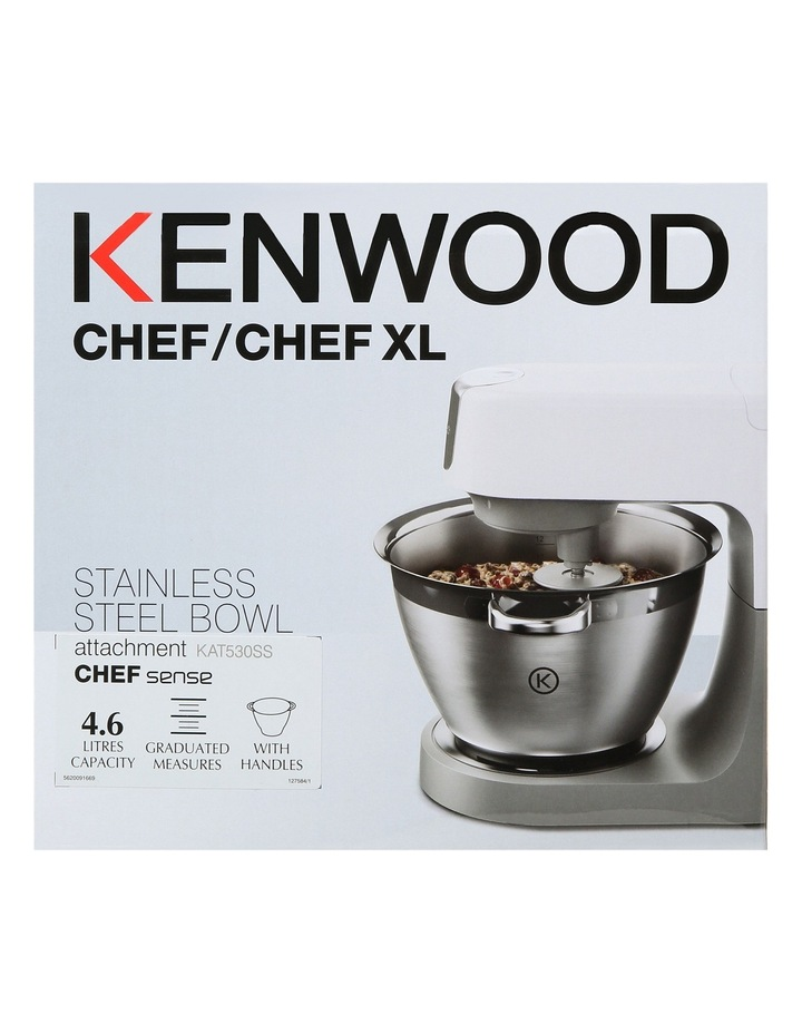 KAT530SS Stainless Steel Bowl Attachment for Chef Sense KVC5 Range image 1