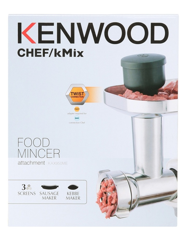 KAX950ME Multi Food Grinder Attachment for Chef Sense Range image 1