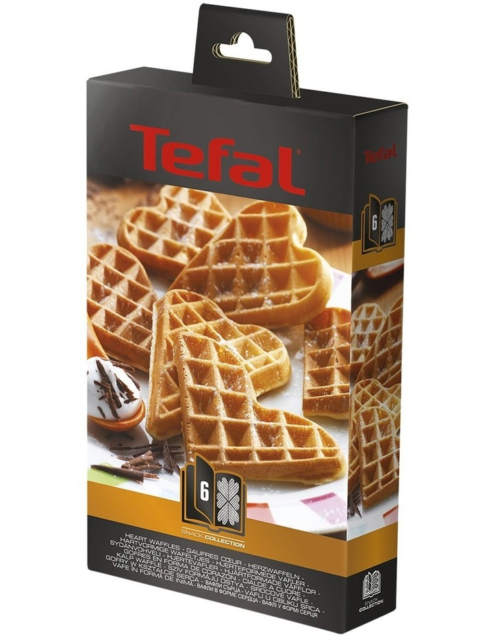 Heart Waffle Plates Option: XA8006 image 1