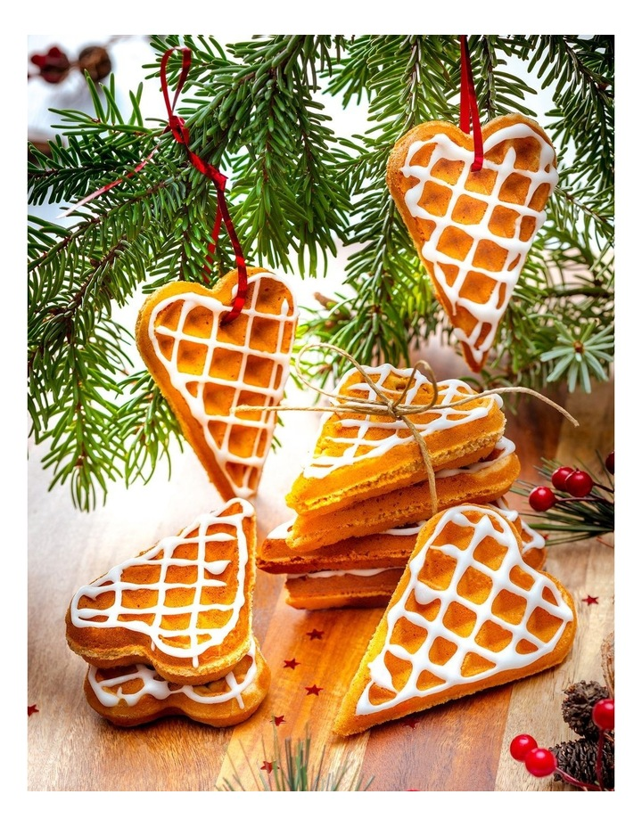 Heart Waffle Plates Option: XA8006 image 3