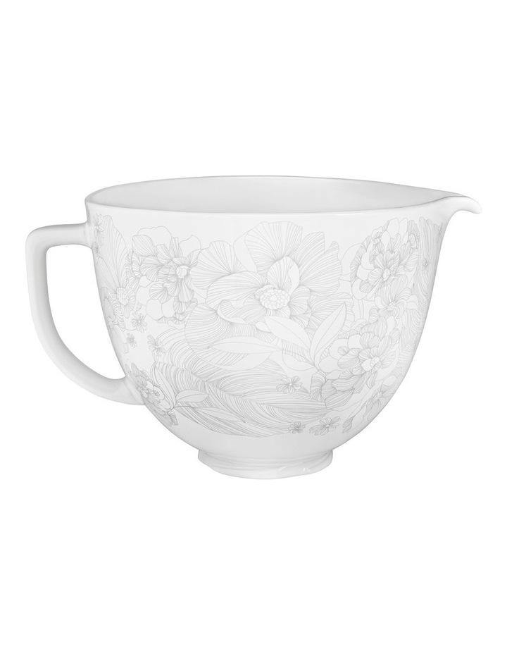 Whispering Floral 4.7L Ceramic Bowl KSM2CB5PWF image 1