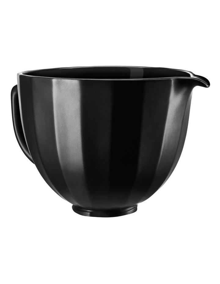 4.7L Shell Ceramic Bowl for Tilt Head Stand Mixer Black 5KSM2CB5PBS image 4