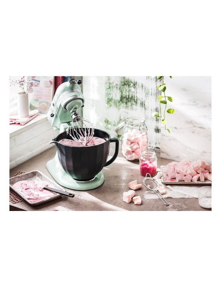 4.7L Shell Ceramic Bowl for Tilt Head Stand Mixer Black 5KSM2CB5PBS image 5