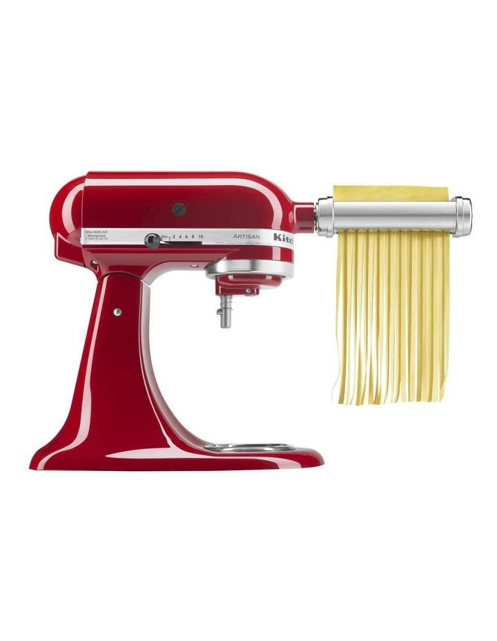 Pasta Roller for Stand Mixer 3Pc Set in Stainless Steel KSMPRA image 2