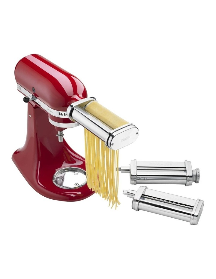 Pasta Roller for Stand Mixer 3Pc Set in Stainless Steel KSMPRA image 7