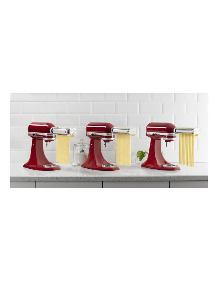 Pasta Roller for Stand Mixer 3Pc Set in Stainless Steel KSMPRA image 8