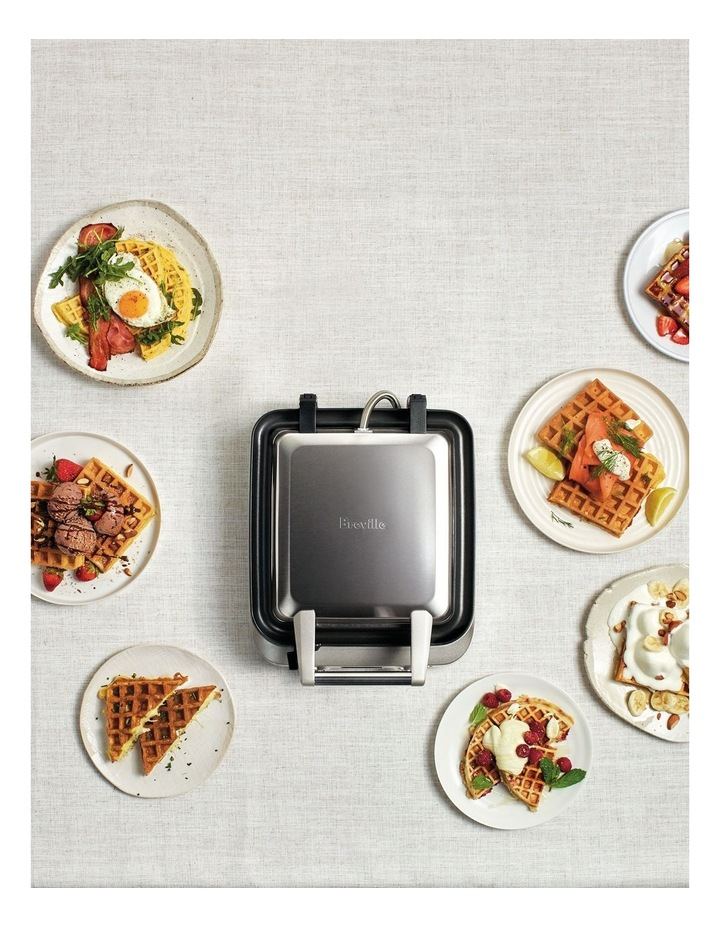 The Smart Waffle Maker: Stainless Steel BWM640BSS image 5