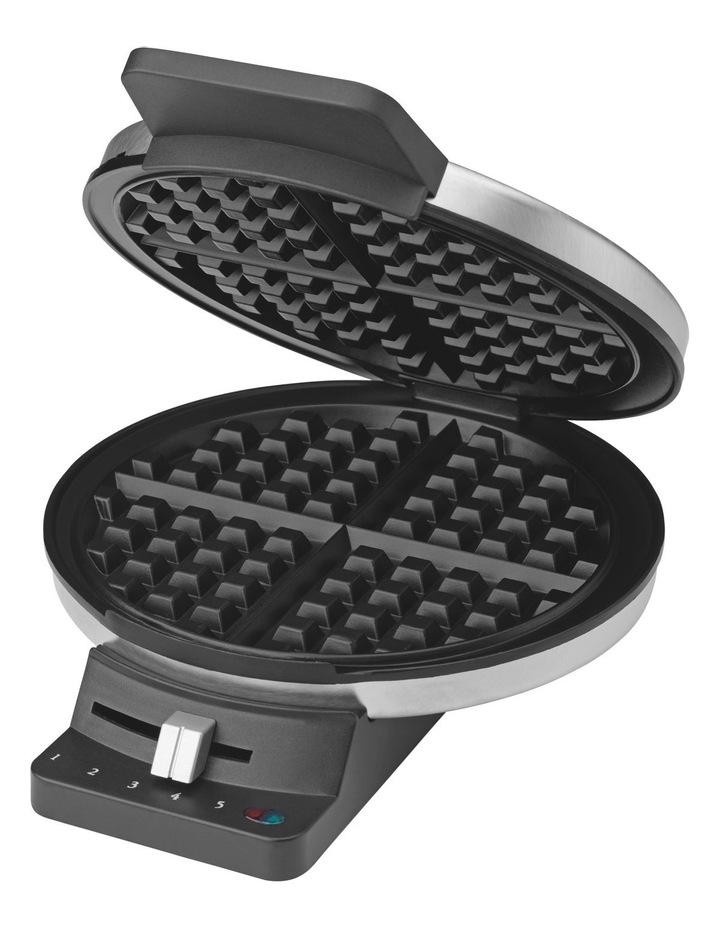 WMR-CAXA Waffle Maker: Silver image 1