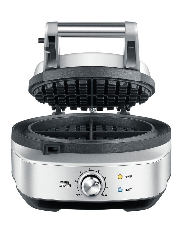 The No-Mess Waffle Maker in Brushed Stainless Steel BWM520BSS image 1