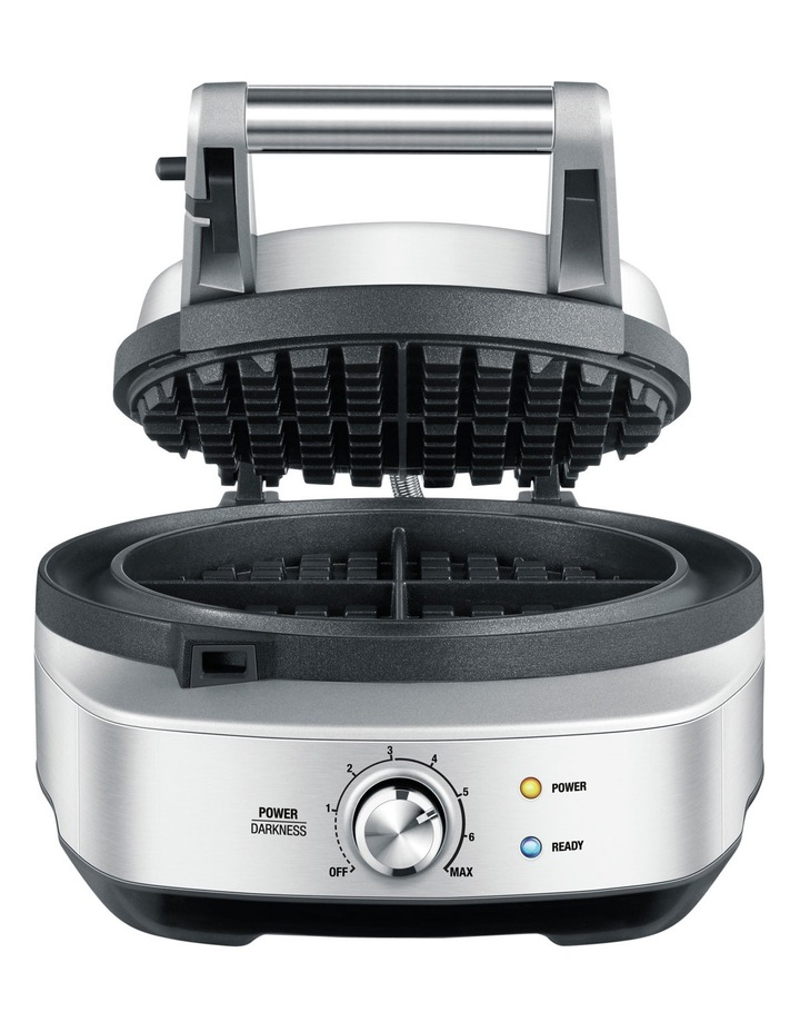 The No-Mess Waffle Maker in Brushed Stainless Steel BWM520BSS image 2