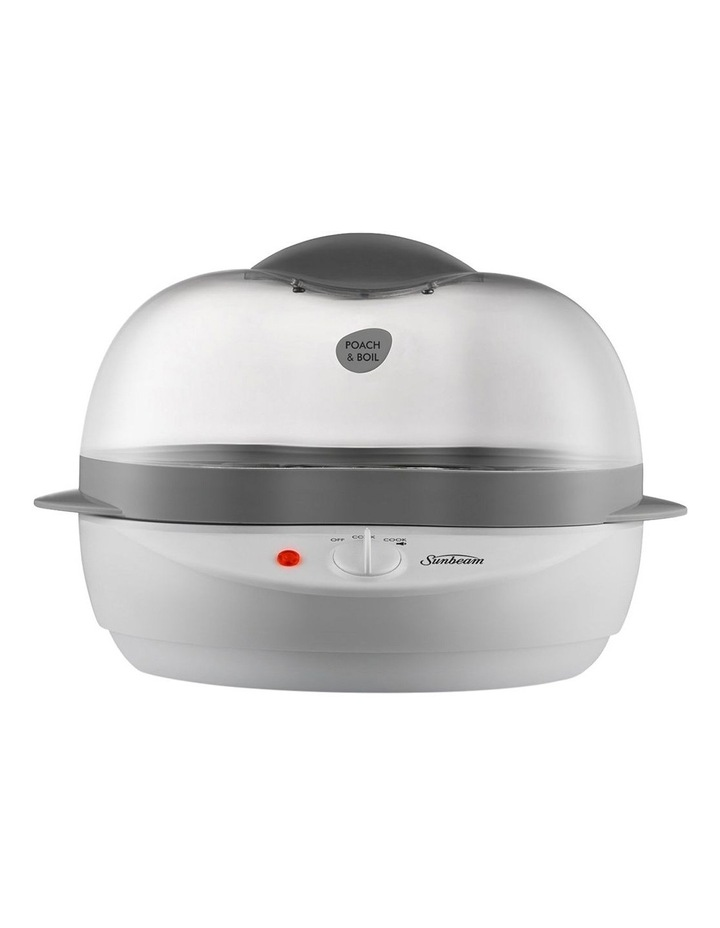 Poach And Boil Egg Cooker White EC1300 image 2