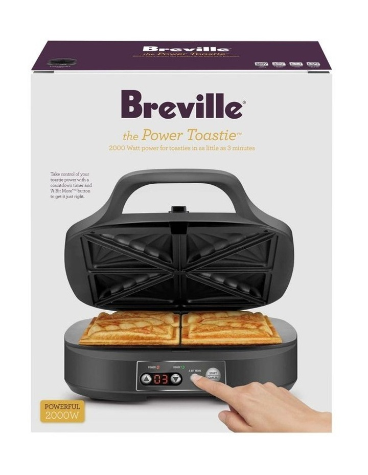 the 4 slice Toastie Maker Grey LTS425GRY image 3