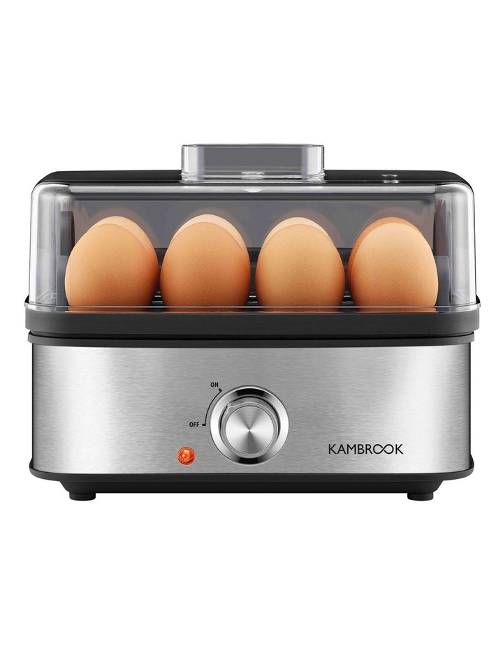 3 Way Egg Cooker Brushed Stainless Steel KEG655BSS image 2