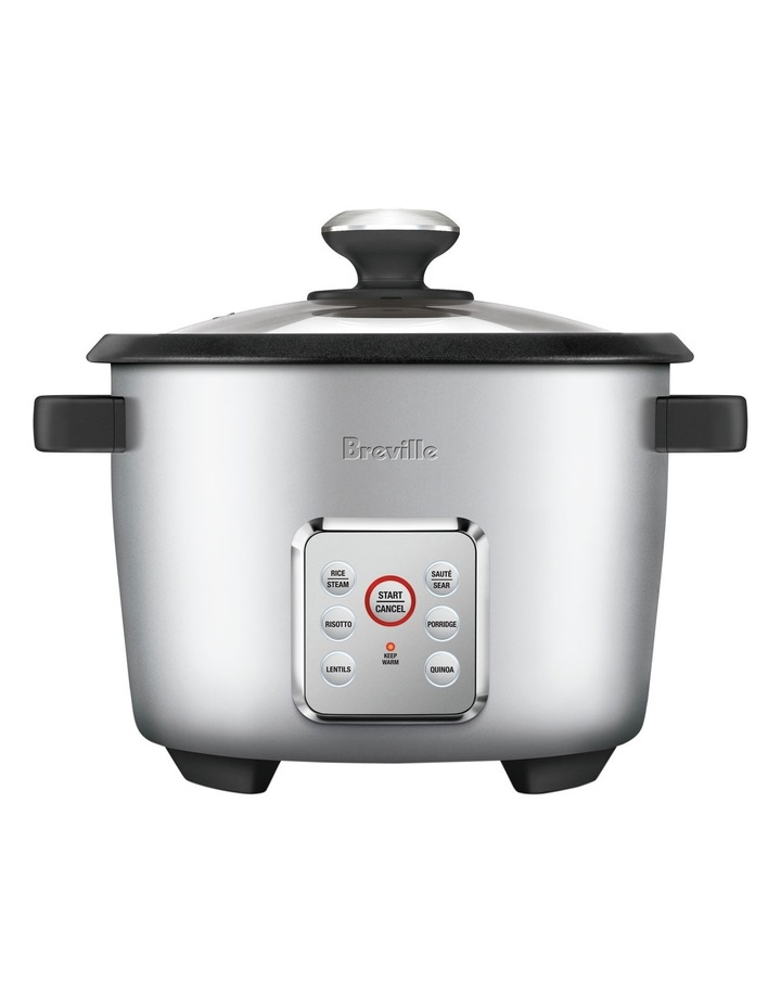 The Multi Grain Rice Cooker: Silver BRC550SIL image 2