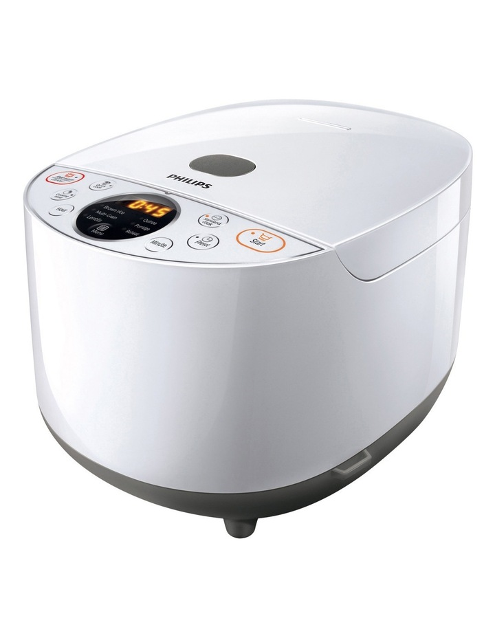 Grain Master Rice Cooker: White: HD4514/72 image 1