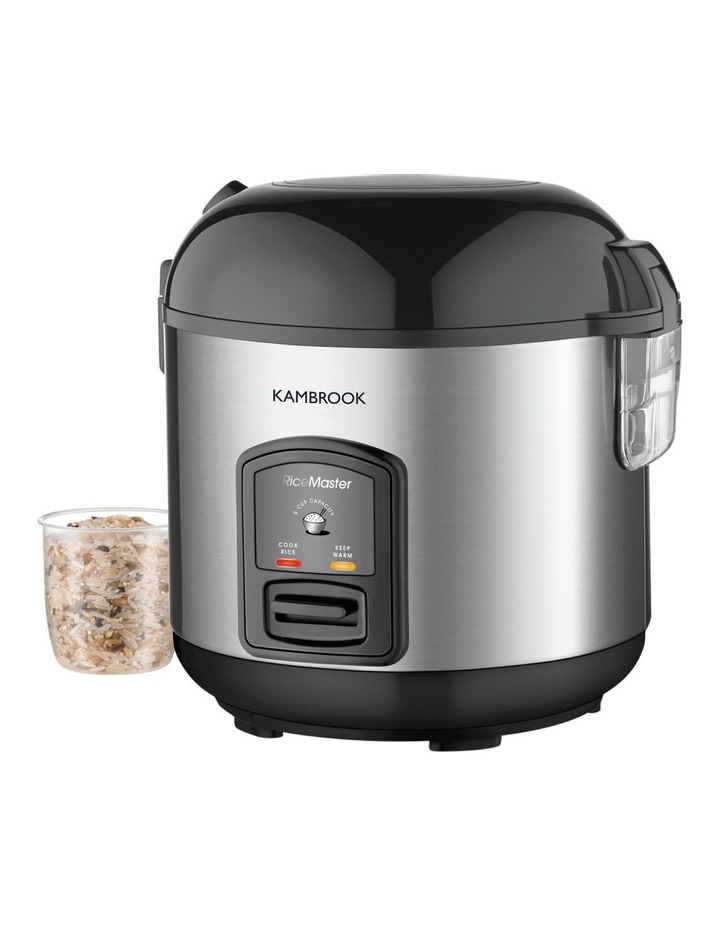 Rice Master Rice Cooker Brushed Stainless Steel KRC405BSS image 1