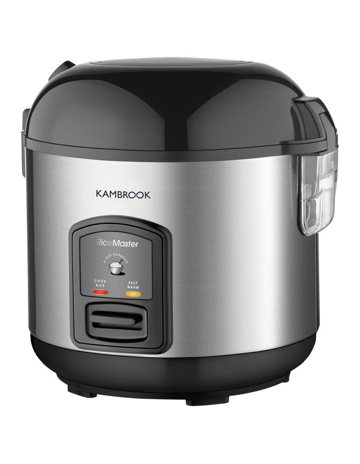 Rice Master Rice Cooker Brushed Stainless Steel KRC405BSS image 2