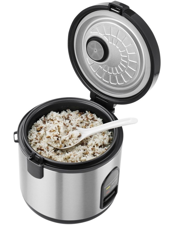 Rice Master Rice Cooker Brushed Stainless Steel KRC405BSS image 6