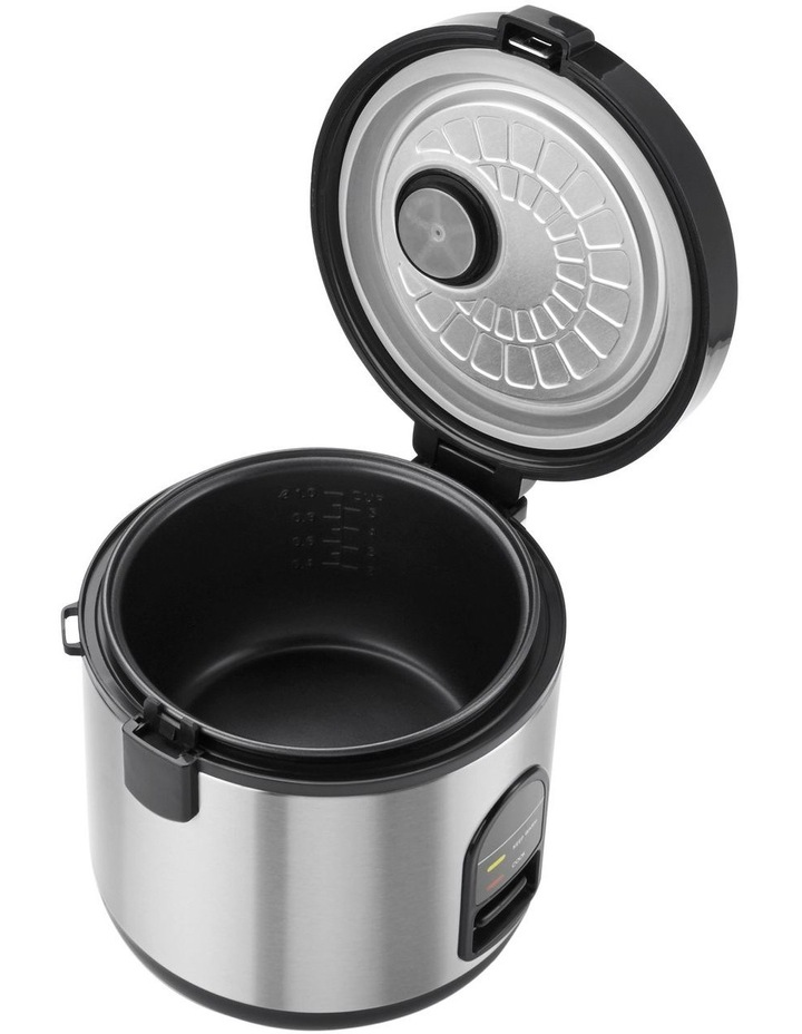 Rice Master Rice Cooker Brushed Stainless Steel KRC405BSS image 7