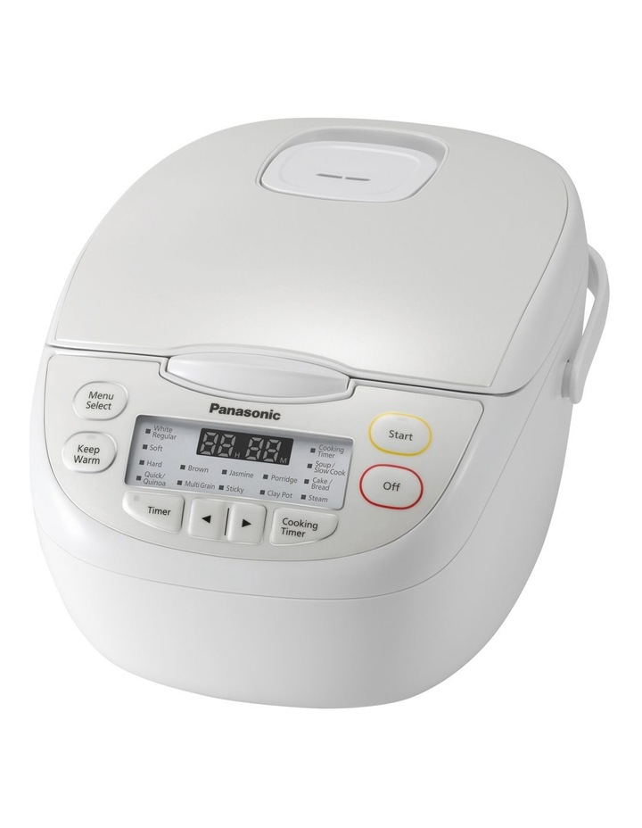 5 Cup Rice Cooker White SR-CN108WST image 1
