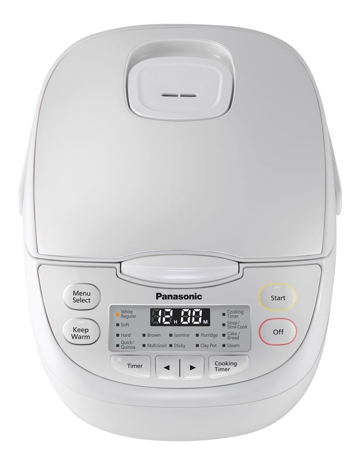 5 Cup Rice Cooker White SR-CN108WST image 2