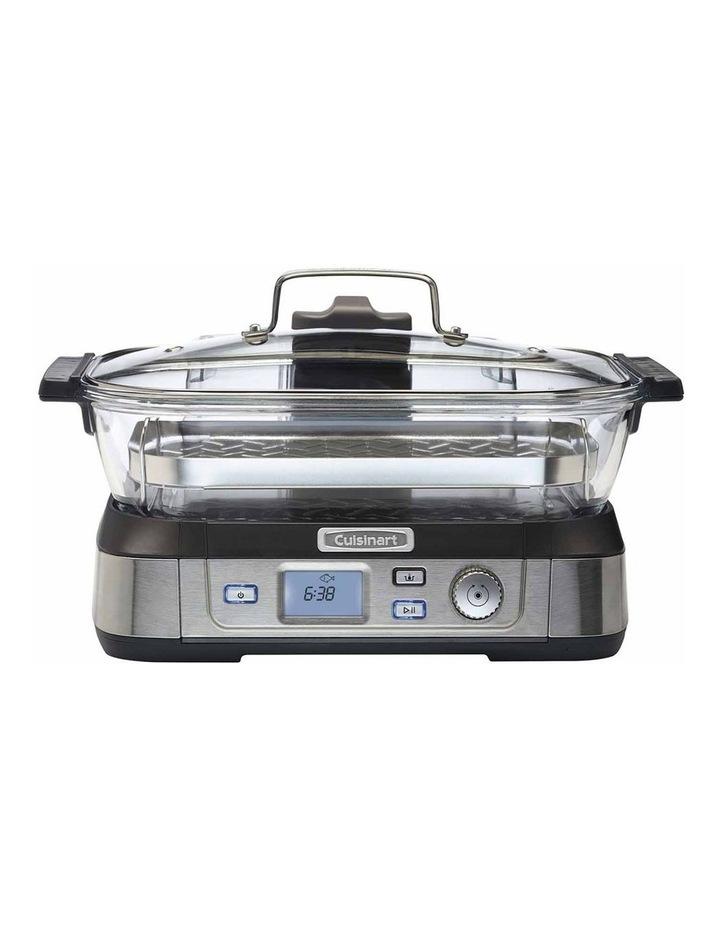 Cook Fresh Digital Glass Food Steamer in Silver STM-1000XA image 1
