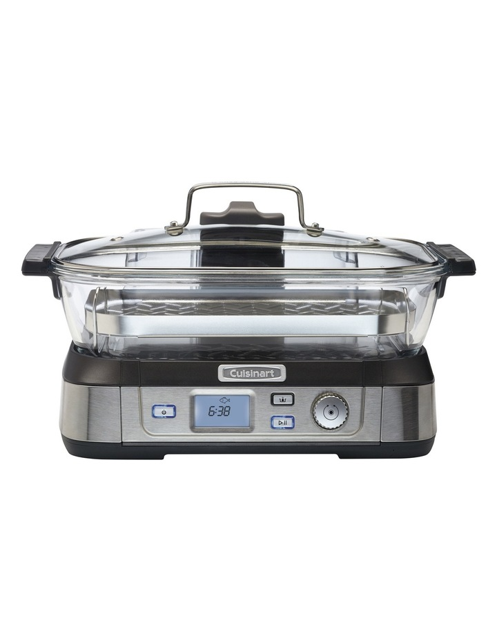 Cook Fresh Digital Glass Steamer  STM-1000XA image 1
