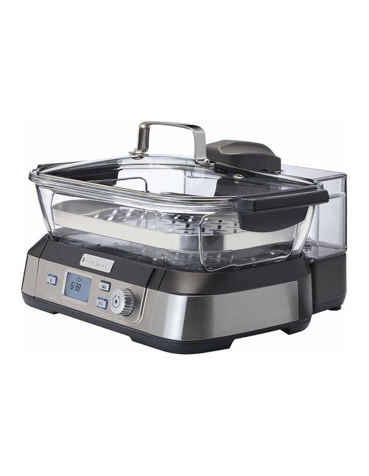 Cook Fresh Digital Glass Food Steamer in Silver STM-1000XA image 3