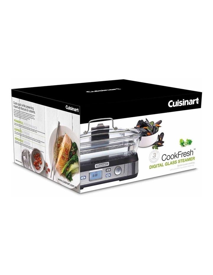 Cook Fresh Digital Glass Food Steamer in Silver STM-1000XA image 5