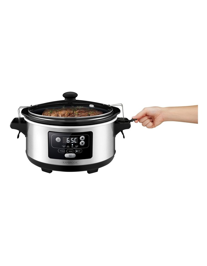 Temp Control Slow Cooker Brushed Stainless Steel KSC655BSS image 2