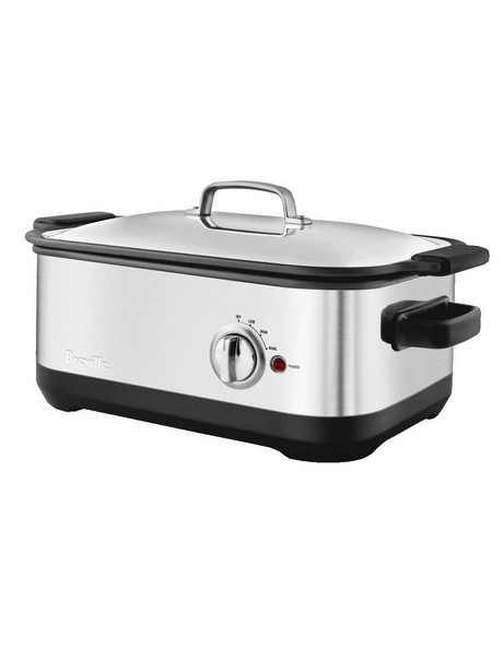 The Ikon Slow Cooker: Stainless Steel BSC560BSS image 2