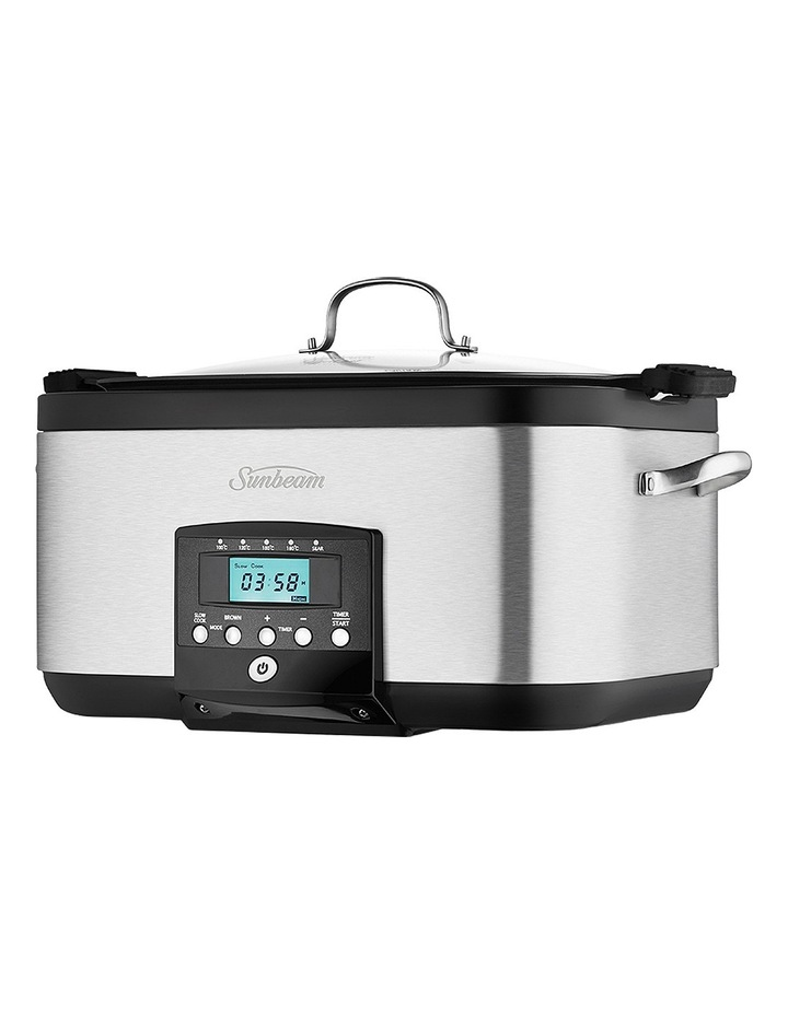 SecretChef Sear & Slow Cooker: Stainless Steel HP8555 image 3