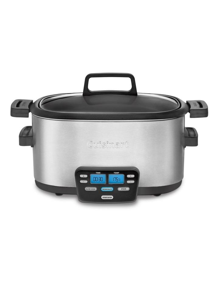 3 in 1 Multi Cooker Slow Cooker & Steamer MSC-600XA image 1