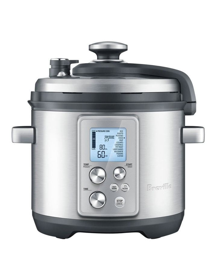 The Fast Slow Pro Cooker: Stainless Steel BPR700BSS image 1