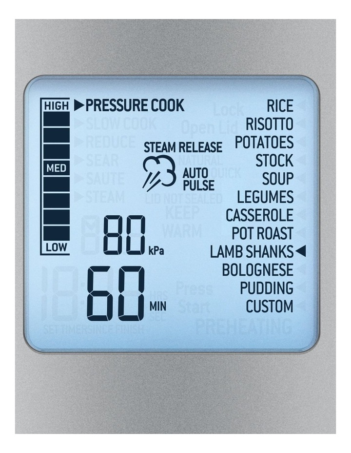 The Fast Slow Pro Cooker: Stainless Steel BPR700BSS image 2