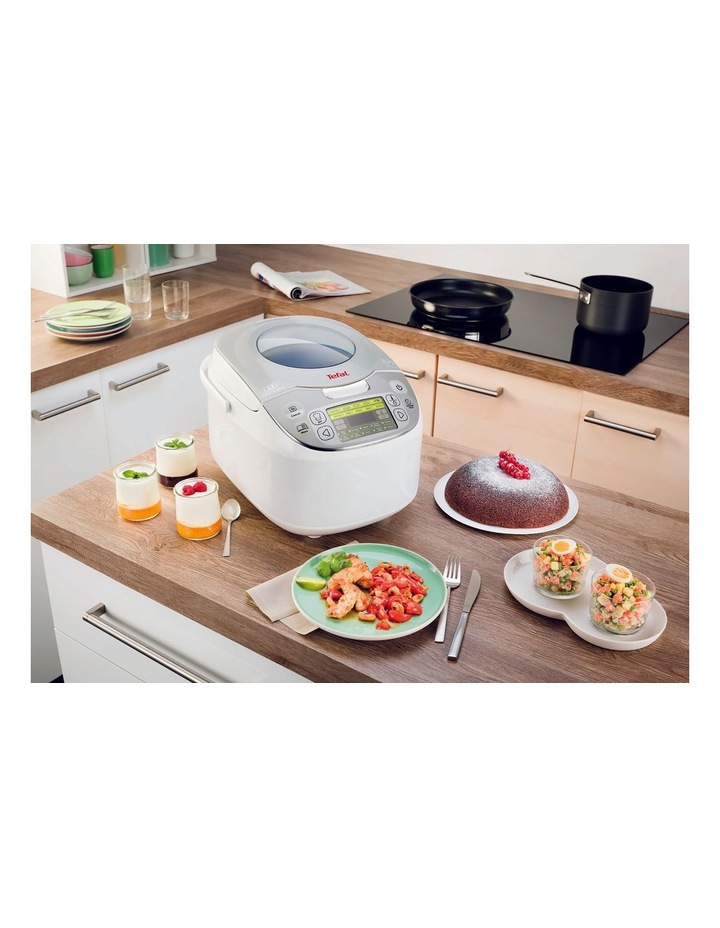 45 in 1 Rice & Multicooker White RK812 image 6