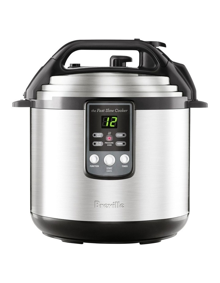 the Fast Slow Cooker Brushed Stainless Steel BPR650BSS image 1